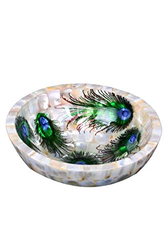 Buddha4all Mother of Pearl Home Decor Gifts …(Bowl)