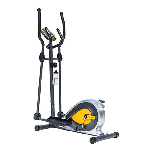 TechFit E400 Cross Trainer, Elliptical Bike Home, Weight Loss Machine Cardio Fitness Exercises, Magnetic Resistance Device Fit Indoor Spaces