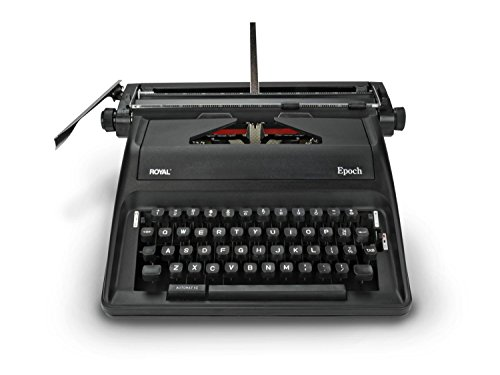 Manual Typewriter black