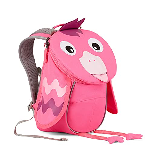 Affenzahn Kleiner Kindergartenrucksack - Flamingo Neon Pink