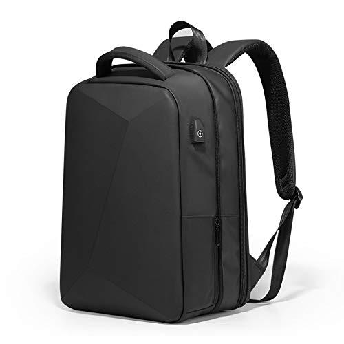 aolongwl Backpack Laptop Backpack Anti-theft Waterproof School Backpacks USB Charging Men Business Travel Bag Upgrade-Black