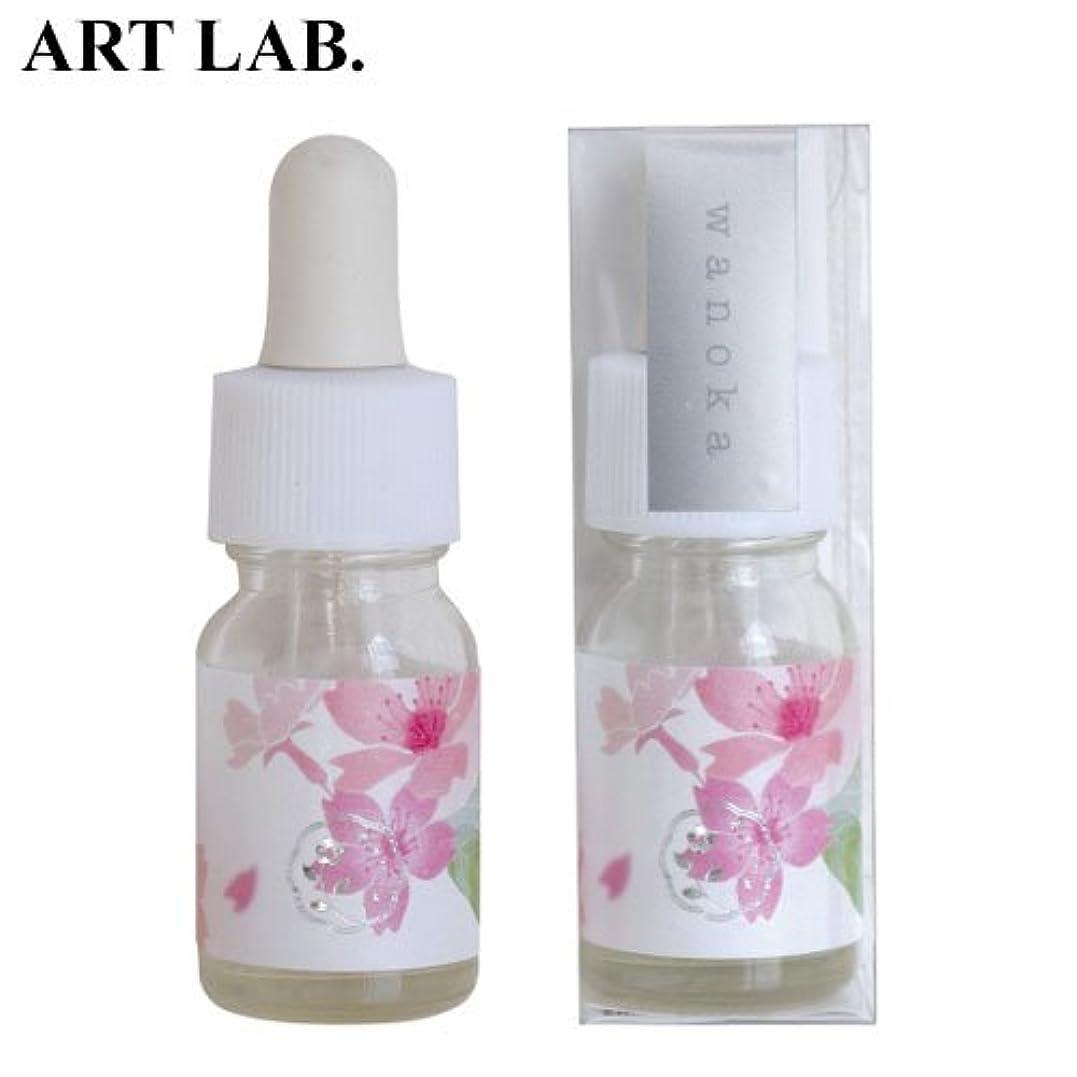 レバー盲信ストロークwanoka香油アロマオイル桜《桜をイメージした甘い香り》ART LABAromatic oil