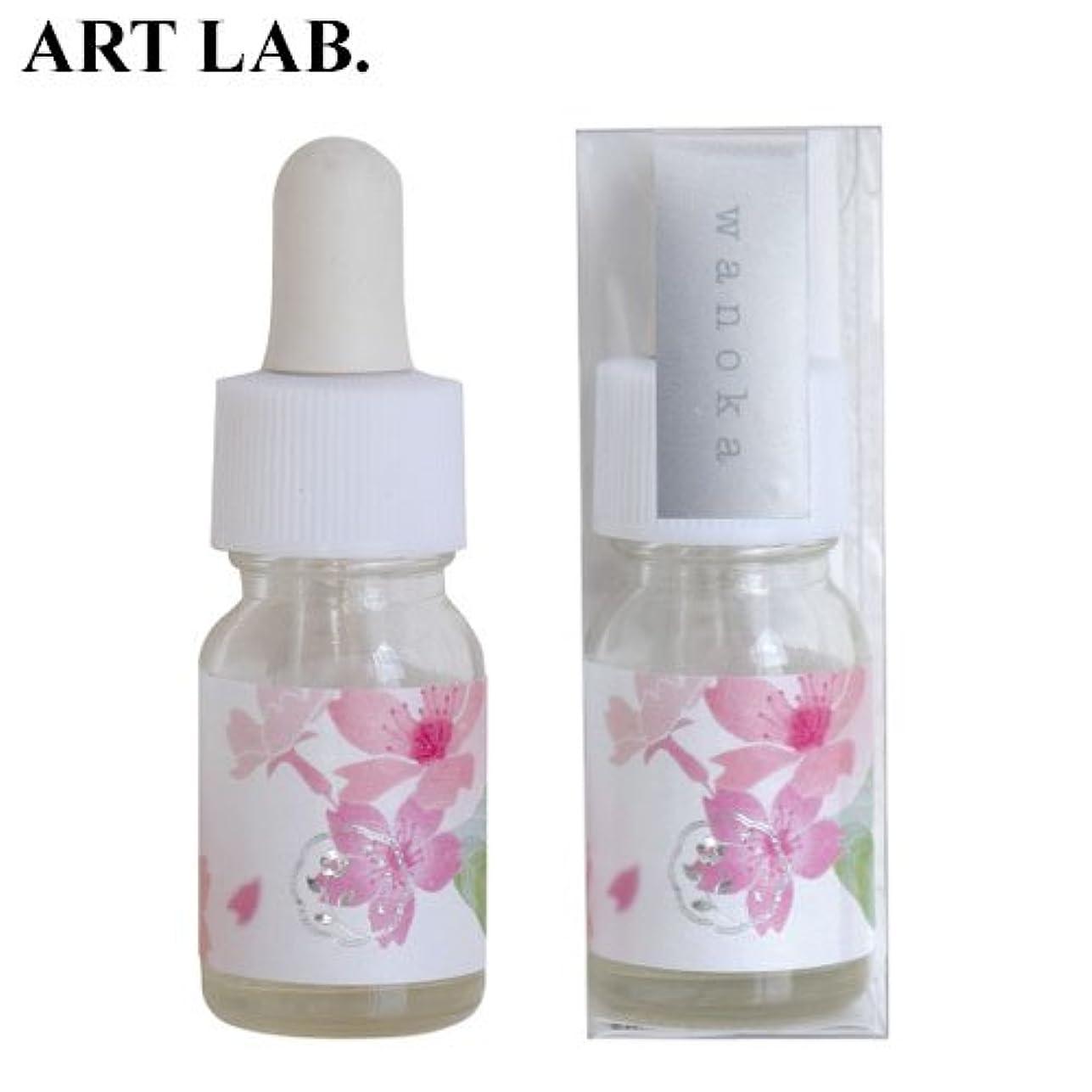 メンバーモーター瞬時にwanoka香油アロマオイル桜《桜をイメージした甘い香り》ART LABAromatic oil
