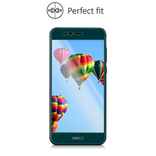 kalibri Huawei Nova 2 Plus Folie - 3D Glas Handy Schutzfolie für Huawei Nova 2 Plus - Auch für gewölbtes Display - 5