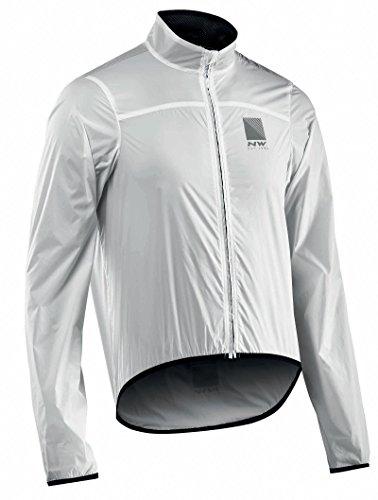 Northwave Breeze 2 Fahrrad Regenjacke weiß 2020: Größe: M (48)