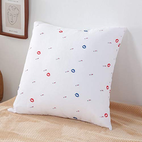 WYSTLDR Brushed sofa pillow core car office bedroom cushion core home bedding 48 * 74cm