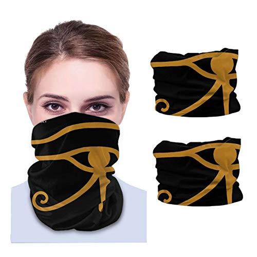 Alan Parsons Project Bandana Balaclava Reusable Washable Neck Warmer Winter Dust Wind Gaiter Scarf Headgear Multiuse For Men Women Black 2 Pcs