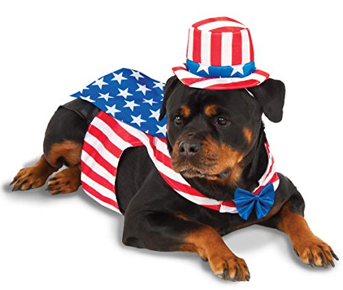 Uncle Sam Big Dog Boutique Costume, XXX-Large