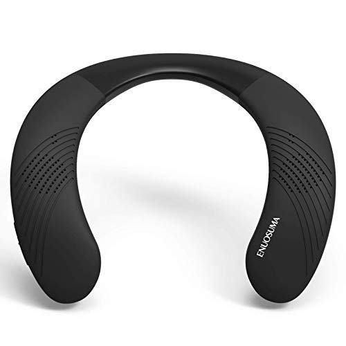 ENUOSUMA Neckband Bluetooth Speakers, Wireless Wearable Speaker with True 3D Stereo Sound, Portable...