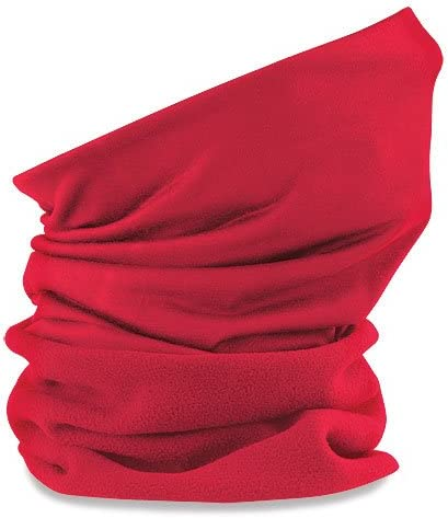 Beechfield Superfleece Washable  Face Cover Winter Neck Warmer Snood