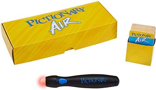 Mattel Games Pictionary Air – Navy Pen Version with 224 Unique Clues [Amazon Exclusive]