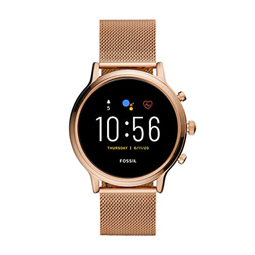 Fossil Gen 5 Julianna - Touchscreen Smartwatch Stainless...