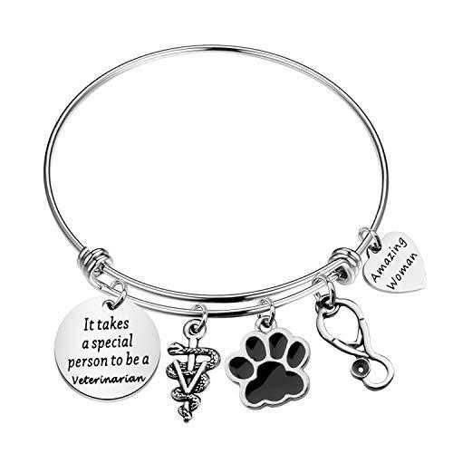 Regalo veterinario veterinario Tech Gift It take a special person to be a veterinario gioielli regalo per infermiere veterinarie veterinarie veterinarie veterinarie e Metallo, cod.