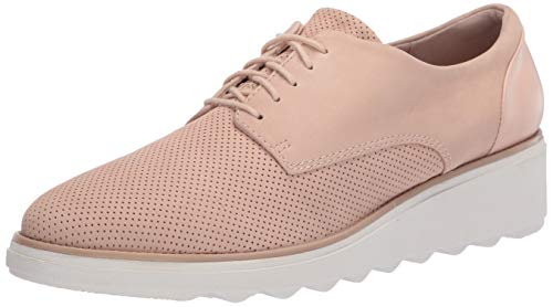 Clarks Women's Sharon Crystal Oxford, Blush Nubuck, 8.5 M US