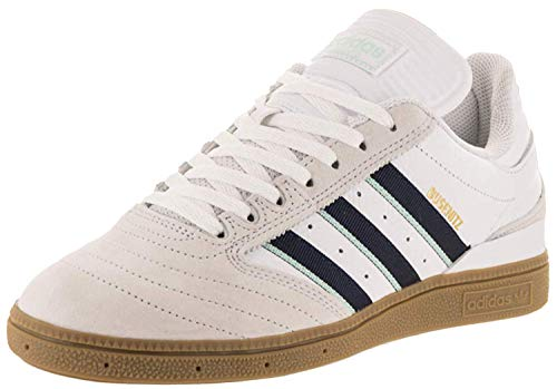 adidas Skateboarding Busenitz Pro Footwear White/Collegiate Burgundy/Clear Mint 8