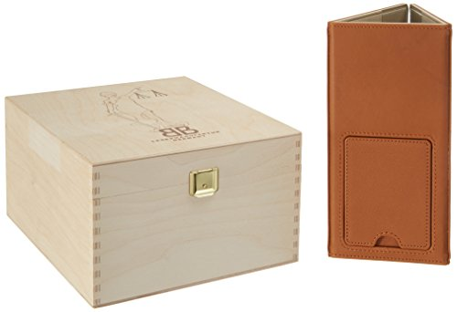 AdvoSkin ledergebunden in Farbe cognac: Der Edel-Loseblattordner für Steuergesetze, Sartorius, Schönfelder und vieler weiterer Gesetzessammlungen bis 86mm Rückenbreite.