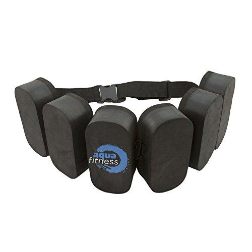 Aqua Fitness Foam Flotation Belt for Water Aerobics, Pool Exercise, Adjustable, Aquatic Swim Belt & Resistance Training