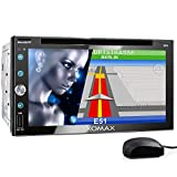 XOMAX XM-2DN6909 Autoradio con mirrorlink, navigatore GPS, vivavoce bluetooth, schermo touch screen...