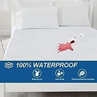 Bonzy Home Waterproof Mattress Protector