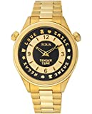 TOUS Reloj Mujer Tender Time IPG ESF Black Brazalete - Ref 100350460