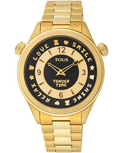 TOUS Orologio da donna Tender Time IPG ESF Black Bracciale - Ref 100350460