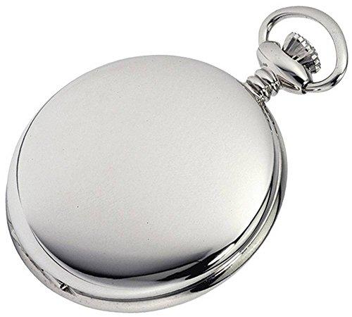 Plata de ley pulida completa Hunter navaja de bolsillo Relojes de Woodford