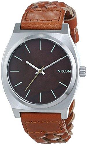 Nixon Herren-Armbanduhr Time Teller Analog Quarz Leder A0451959-00
