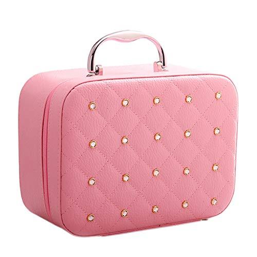 Sac de Rangement de cosmétiques de Grande capacité (Color : Pink, Taille : Large)