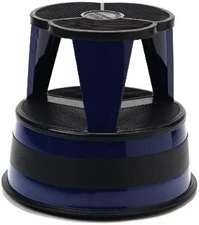Cramer 1001-63 Kik Rolling Step Stool, Blue