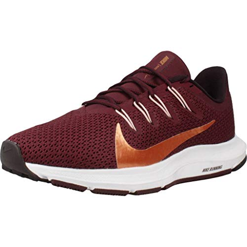 Nike Quest 2, Zapatillas de Running Mujer, Night Maroon/Metallic...