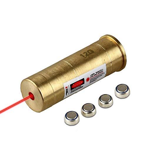 Gotical 12ga Laser Cartridge Bore Sighter 12 Gauge Shot Gun Boresighter Sight Boresight
