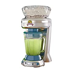 Makes up to 2.5 pitchers of frozen concoctions thanks to its extra-large ice reservoir Creates premium shaved ice rather than crushed ice like a blender, for an authentic frozen concoction experience. Key West Frozen Concoction Maker with 36-ounce bl...