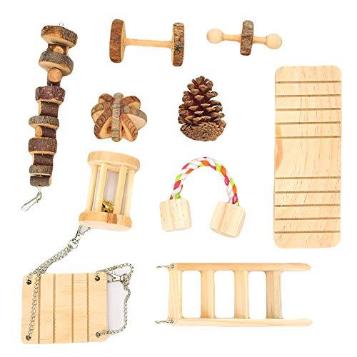 ZNLIgHT Útil para 10 cascabeles de madera
