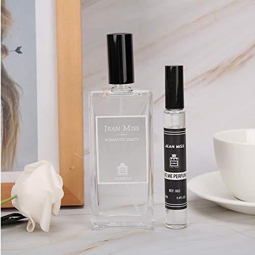 Agua de Perfume Perfume, Lady Perfume Largo Duradero Restaurable Fragancia Fragancia Mujer Perfume Regalo (50 + 12 Ml)