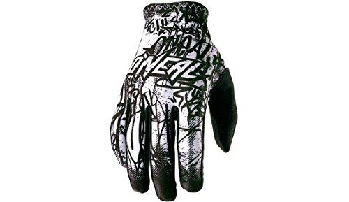 O\'Neal Matrix Handschuhe Vandal Schwarz Weiß MX MTB DH Motocross Enduro Offroad, 0388M-4, Größe M