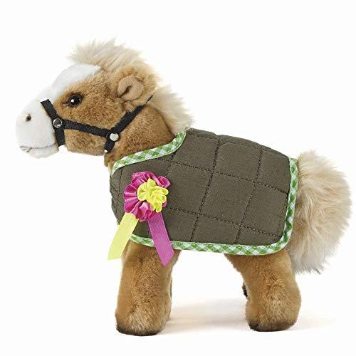 Levende natuur zacht speelgoed, pluche boerderijdieren, paarden Paard & Jas (23cm) Onbekend