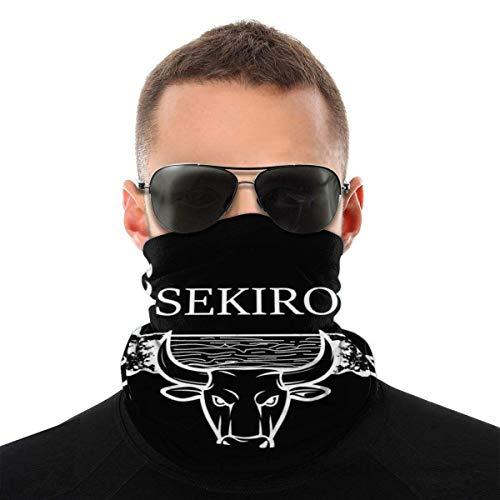 Teemoo Sekiro Shadows Die Twice Blazing Bull Light Varietät Kopftuch Gesichtsmaske Magic Headwear Neck Gaiter Gesicht Bandana Schal