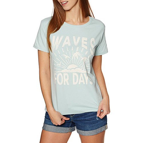BILLABONG First Camiseta, Mujer, Lit FLO Pas FRU, XS