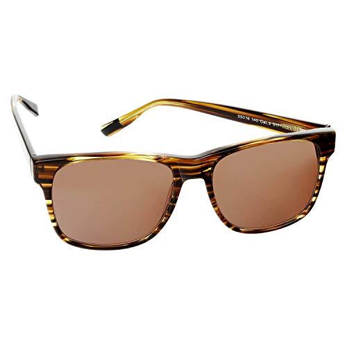 s.Oliver Black Label Unisex Sonnenbrille mit UV-400 Schutz 55-16-140-99814, Farbe:Farbe 1