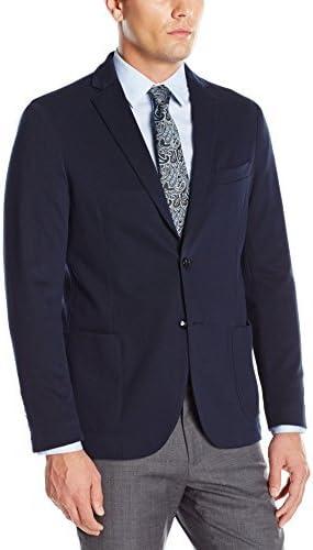 Stone Rose Men's Textured Knit Blazer