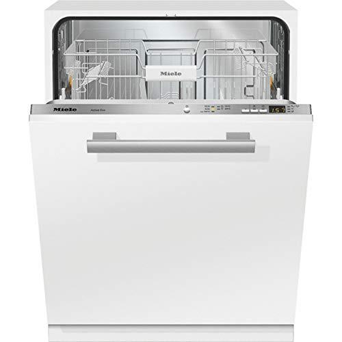 Lavavajillas totalmente integrable modelo G 4380 Vi Active Eco, A++, color blanco, 57 x 60 x 80,5 centímetros (referencia: Miele 21438061IB)