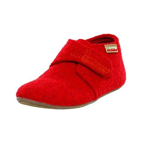 Living Kitzbuhel Jungen Unisex Kinder Babyklettschuh Lauflernschuhe, Rot (rot 350), 27 EU