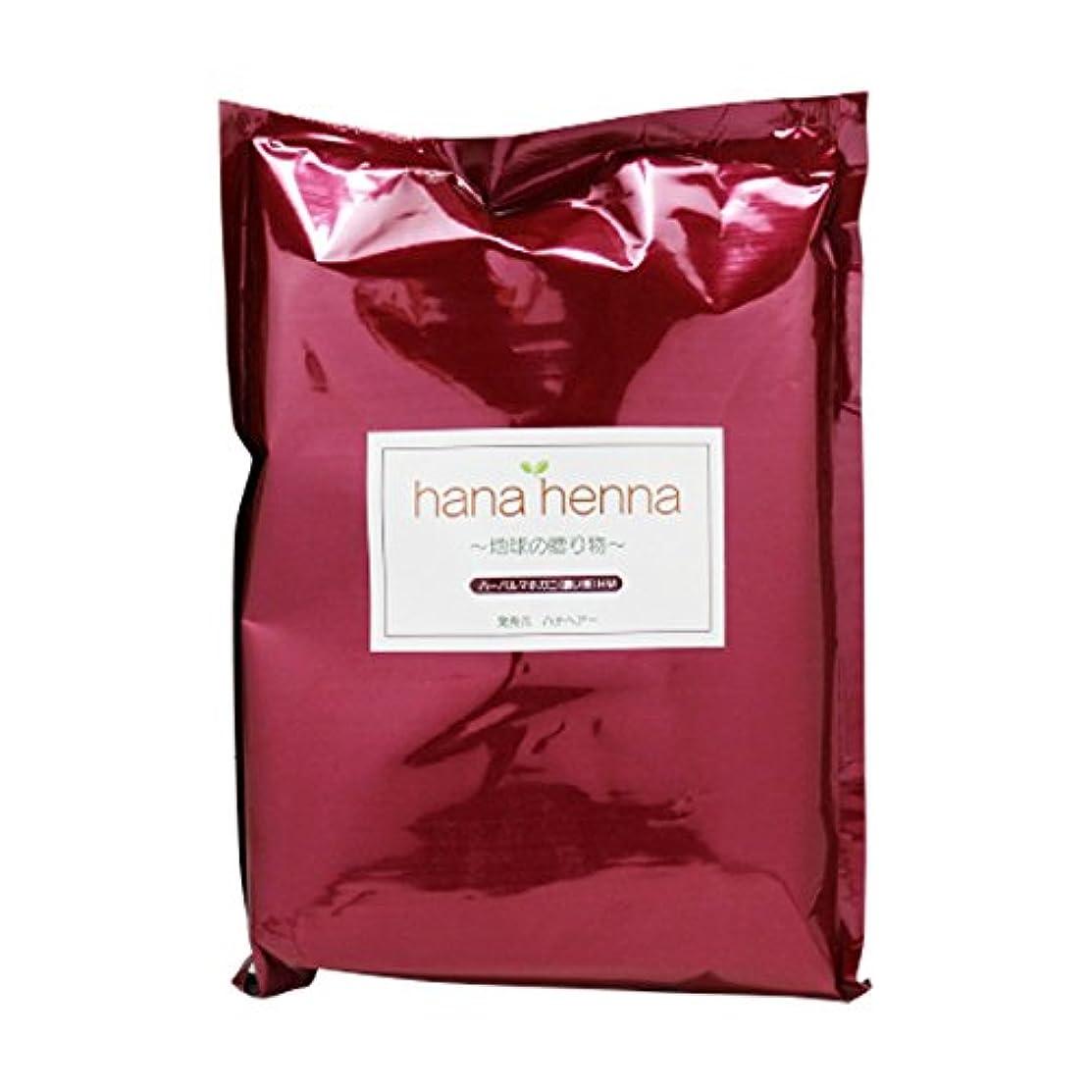 重荷マインド告白するhanahenna ハーバルマホガニー HM(濃い茶) 100g