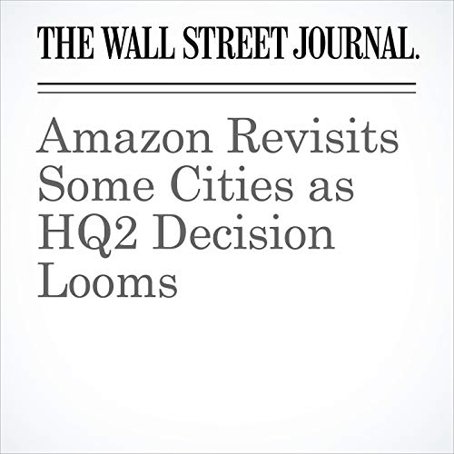 Amazon Revisits Some Cities as HQ2 Decision Looms copertina