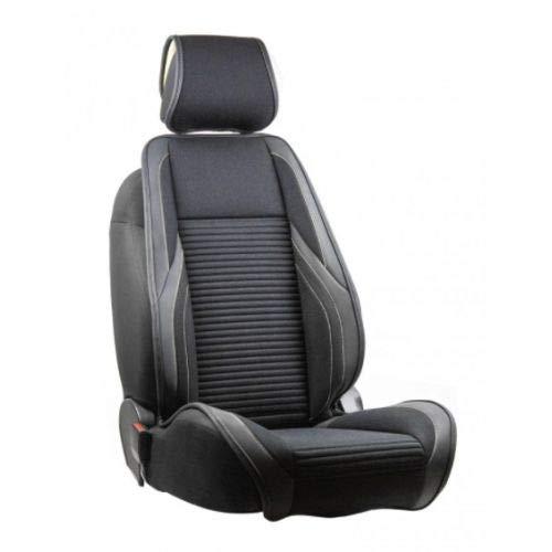 Funda para asiento delantero de cristal para Golf II (1983/08-1991/10), color negro