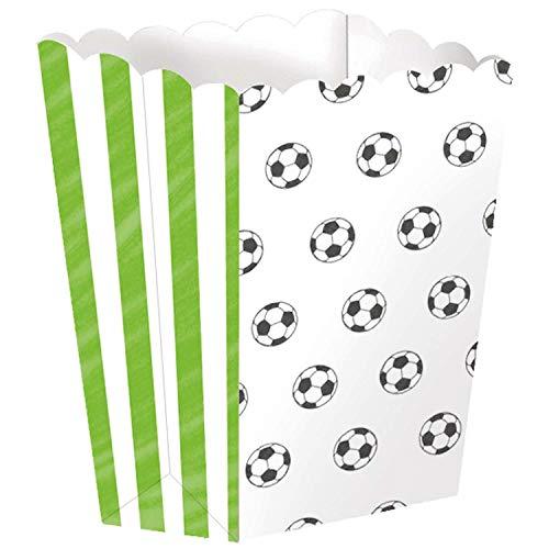 amscan 9903020 Popcornschale Fußball