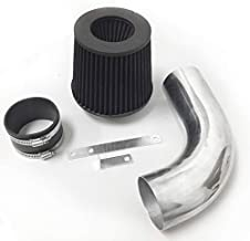 Performance Air Intake Filter System for 1986 1987 1988 1989 1990 1991 1992 Ford Ranger With 2.9L V6 OHV Engine (Black Filter & Accessories)
