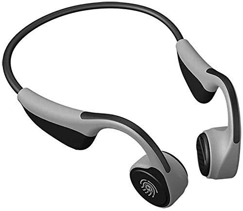 NCRD Auriculares de conducción ósea, Bluetooth 5.0 IP68 Auriculares inalámbricos a prueba de agua a prueba de corriente Auriculares Auriculares Auriculares Incorporados Cancelación de ruido Mic for co