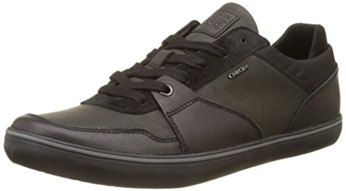 Geox U Box A, Zapatillas Hombre, Negro (Black), 46 EU