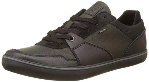 Geox U Box A, Zapatillas para Hombre, Negro (Black), 44 EU